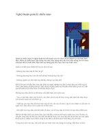 Tài liệu Nghệ thuật quản lý chiến lược docx