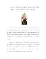 Tài liệu SỰ PHÁT TRIỂN CỦA CÁC EM BÉ SINH RA TỪ KỸ THUẬT THỤ TINH TRONG ỐNG NGHIỆM ppt
