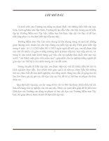 Bài thu hoạch kiến tập sư phạm năm 2