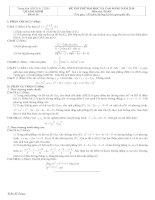Tài liệu Đề và đáp án luyện thi đại học 2010 khối A-B-C-D đề 10 doc