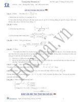 Tài liệu Đề và đáp án thi thử đại học môn Toán 2010_số 04 pdf