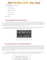 Tài liệu Bài thuyết trình nhóm: Lịch Sử Phát Triển Máy Tính ppt