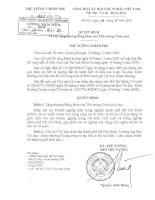 Tài liệu Quyết định số 1462/QĐ-TTg doc