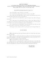 Tài liệu CÁC MẪU VĂN BẢN THỰC HIỆN THỦ TỤC ĐẦU TƯ TẠI VIỆT NAM docx