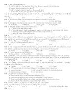 Tài liệu Bài tập trắc nghiệm hoá học pptx