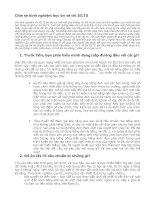 Kinh nghiệm luyện thi ielts 8 5
