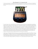 Tài liệu Mẹo dùng Pin AA cho máy ảnh KTS doc