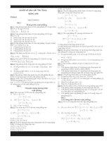 Chuyên đề hình giải tích trong không gian