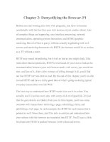 Tài liệu Web Client Programming with Perl-Chapter 2: Demystifying the Browser-P1 pdf