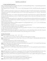 câu hỏi và bài tập ôn tập học kì I hóa học 10