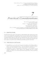 Tài liệu Lọc Kalman - lý thuyết và thực hành bằng cách sử dụng MATLAB (P7) ppt