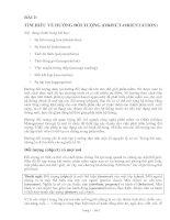 Tài liệu BÀI 2: TÌM HIỂU VỀ HƯỚNG ĐỐI TƯỢNG (OBJECT-ORIENTATION) pptx