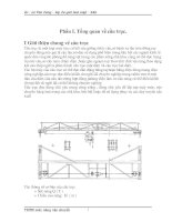 Thiết kế máy nâng có cơ cấu nâng hạ hàng (thuyết minh + bản vẽ)