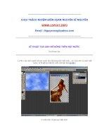 Tài liệu Hướng dẫn học Photoshop pdf