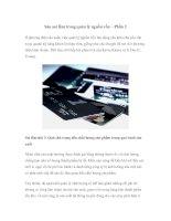 Tài liệu Sáu sai lầm trong quản lý nguồn vốn – Phần 2 pptx