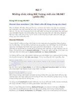 Tài liệu Dot Net-Bài 7-Những chức năng Đối Tượng mới của VB.NET (phần IV) ppt