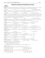 Tài liệu Ôn thi đại học phần halogen hóa 2010 pdf