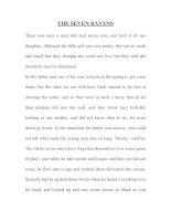 Tài liệu THE SEVEN RAVENS - GRIMM''''S FAIRY TALE doc