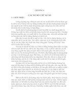 Tài liệu Lý thuyết mật mã - Chương 6&7 pdf