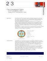 Tài liệu KRONE - Datasheet - Cat 6 - Cable - S-STP 450MHz FRNC 1000m reel pdf