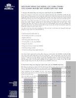 Tài liệu GIẢI PHÁP NÂNG CAO NĂNG LỰC CẠNH TRANH CÁC DOANH NGHIỆP BẤT ĐỘNG SẢN VIỆT NAM pptx