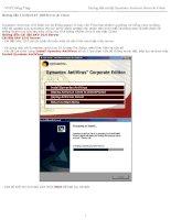 Tài liệu Hướng dẫn Cài đặt SAV 10.0 Server & Client doc