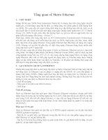 Tài liệu Tổng quan về Metro Ethernet pdf