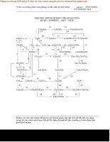 Tài liệu Phương trình cơ bản liên quan giữa rượu - andehit - axit - este pptx