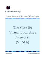 Tài liệu The Case for Virtual Local Area Networks (VLANs) ppt