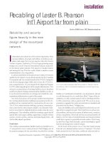 Tài liệu Recabling of Lester B. Pearson Int'l Airport far from plain docx