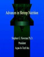 Tài liệu Advances in Shrimp Nutrition pptx