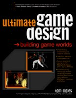 Tài liệu McGraw-Hill - 2003 - Ultimate Game Design. Building Game Worlds - DDU01 docx