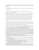 Tài liệu Ôn tập môn Tư tưởng Hồ Chí Minh pptx