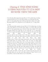 Tài liệu Chương 4: TÌNH HÌNH NĂNG LƯỢNG NGUYÊN TỬ CỦA MỘT SỐ NƯỚC TRÊN THẾ GIỚI pptx