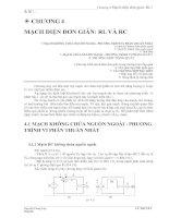 Tài liệu Chương 4 Mạch điện đơn giản- RL 1 & RC ppt