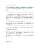 Tài liệu Tiểu sử của ứng viên xin việc ppt