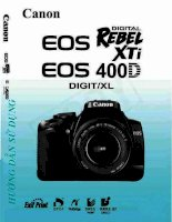 Tài liệu Hướng dẫn sử dụng Canon EOS 400D pdf