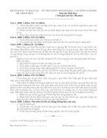 Tài liệu Đề thi ĐH Sinh khối B 2002 pdf