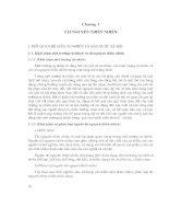 Tài liệu Chương 3: Tài nguyên thiên nhiên pdf