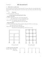 Kết cấu bê tông cốt thép 2 (phần kết cấu nhà cửa) chương 3: kết cấu khung bê tông cốt thép