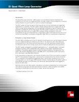 Tài liệu E1 Quad Fibre Loop Converter pdf
