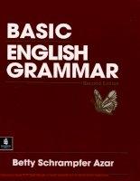 Tài liệu Betty Azar - Basic English Grammar 2e-chapter1 pptx