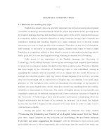 ĐÁNH GIÁ độ TIN cậy và độ GIÁ TRỊ của một bài KIỂM TRA TIẾNG ANH CUỐI kỳ DÀNH CHO SINH VIÊN năm THỨ BA KHÔNG CHUYÊN TRƯỜNG đại học CÔNG NGHỆ   đại học QUỐC GIA hồ CHÍ MINH và đề XUẤT một số THAY đổi