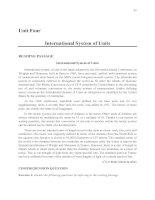 Tài liệu English for students of Physics_Unit 4 doc