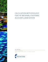 Tài liệu Calculation methodology for the national Footprint accounts, 2008 EditIon docx