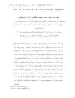 Tài liệu CHẾ TẠO VÀ ỨNG DỤNG HẠT NANÔ TỪ TÍNH TRONG Y SINH HỌC ppt
