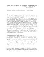 Tài liệu Phương pháp Phân tích (Các) Hệ thống trong Quy hoạch Môi trường doc