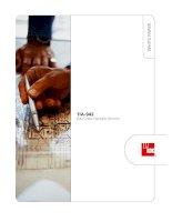 Tài liệu ADC KRONE - Guide - TIA-942 Data Center Standards Overview doc