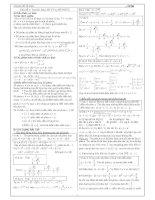Tài liệu Chuyên đề luyện thi ĐH phần số phức pdf