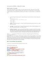 Tài liệu Gởi email text, HTML và tiếng Việt Unicode pptx